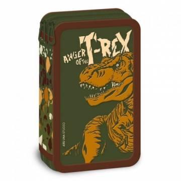 Ars Una Празен Несесер с две отделения T-Rex 92667877 Ученически пособия