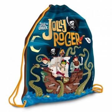 Ars Una Спортна торба Jolly Roger 93568067 Ученически пособия
