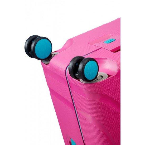 American Tourister Куфар Lock'N'Roll 69 см - лятно розово