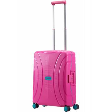 American Tourister куфар Lock'N'Roll 55 см - лятно розов