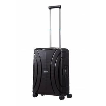 American Tourister куфар Lock'N'Roll 55 см - черен