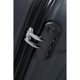 American Tourister куфар Tracklite 55 см - черен