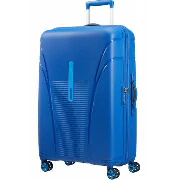 American Tourister куфар Skytracer 77 см - син