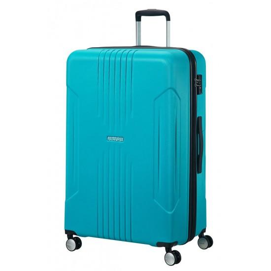 American Tourister куфар Tracklite 78 см - небесно син