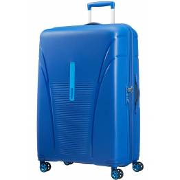 American Tourister куфар Skytracer 82 см - син
