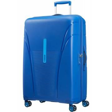 American Tourister куфар Skytracer 82 см - син