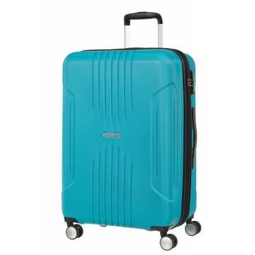 American Tourister куфар Tracklite 67 см - небесно син