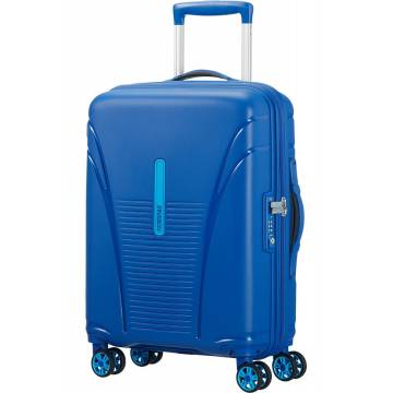 American Tourister куфар Skytracer 55 см - син