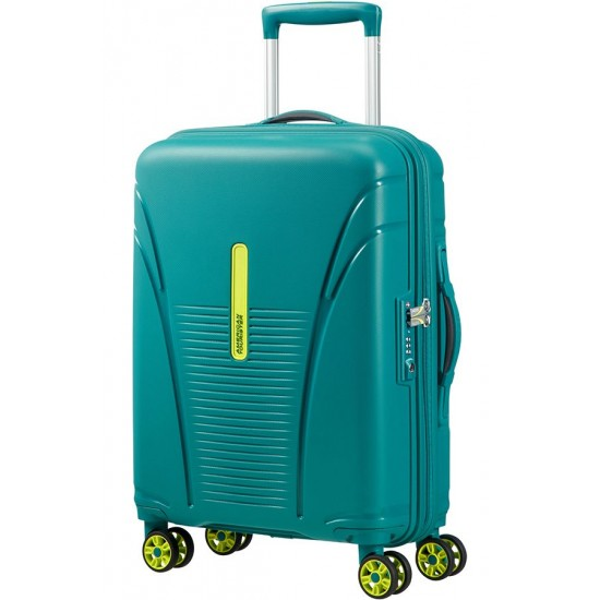 American Tourister куфар Skytracer 55 см - пролетно зелено