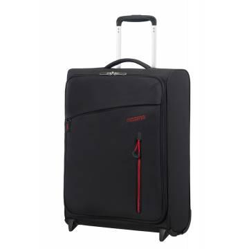 American Tourister Куфар Litewing 55 см - черен
