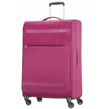 American Tourister куфар Herolite 74 см - лилав