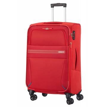 American Tourister Куфар Summer Voyager 68 см - червен
