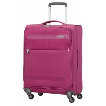 American Tourister куфар Herolite 55 см - лилав