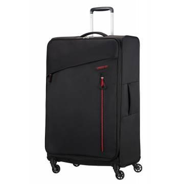 American Tourister Куфар Litewing 81 см - черен