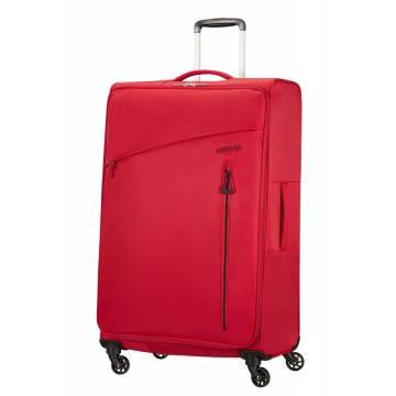 American Tourister Куфар Litewing 81 см - червен