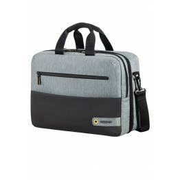 Бордна чанта с отделение за лаптоп 15.6inch City Drift - черен/сив