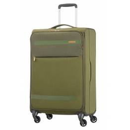 American Tourister Куфар Herolite 67 см. - тъмно зелен