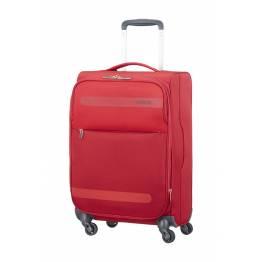 American Tourister Куфар Herolite 55 см. с разширение - червен