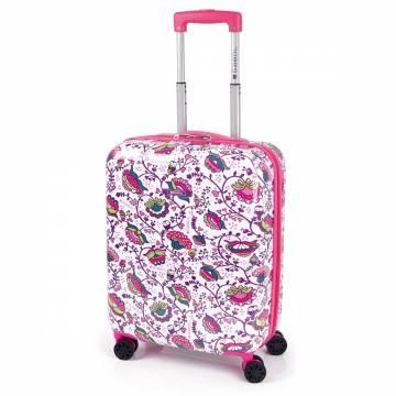 ABS куфар 55 см. розов - Magic