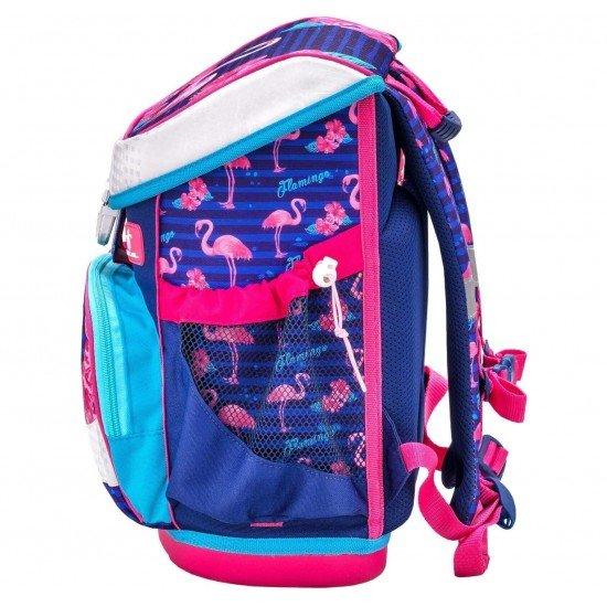 Belmil ученическа раница-кутия - Flamingo