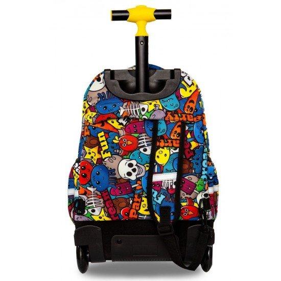 Cool Pack Светеща LED раница на колела Cartoon Junior