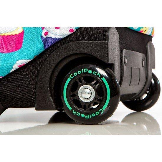 Cool Pack Светеща LED раница на колела Cupcakes Junior