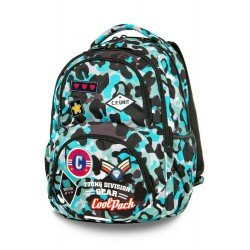 Cool Pack раница Dart CAMO - Blue Badges