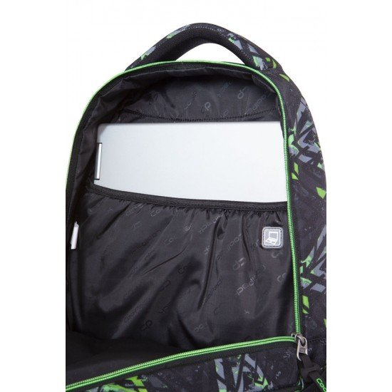 Cool Pack Ученическа раница College Tech - Electric Green