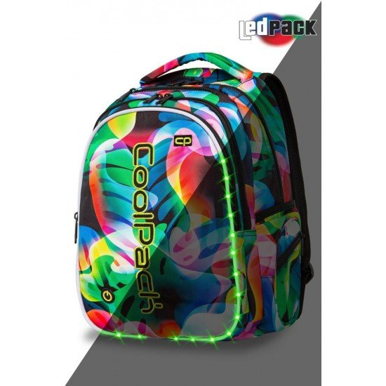 Cool Pack Светеща LED раница Rainbow Leaves Joy L