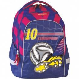 Cool Pack Ученическа раница с две отделения Football Blue