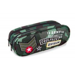 Cool Pack Clever несесер Camo Green Badges