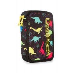 Cool Pack Jumper 2 пълен несесер с два ципа Dinosaurs