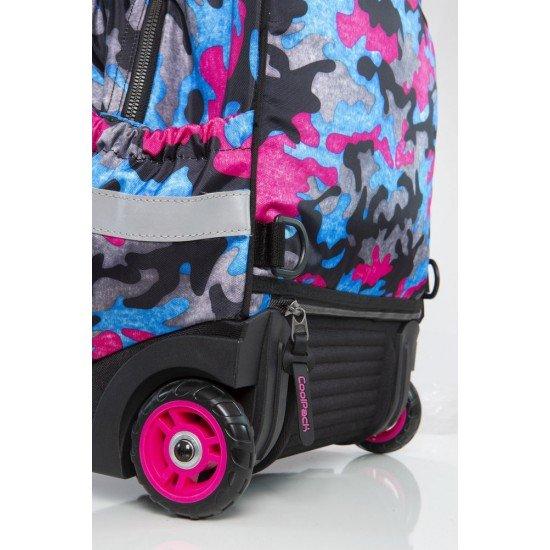 Раница на колела STARR - Camo Fusion Pink