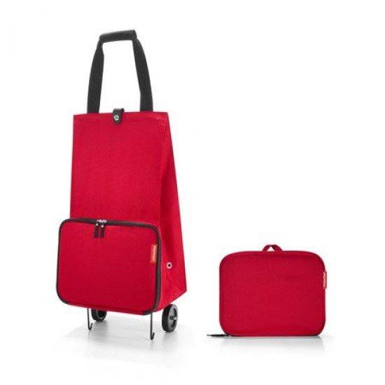 Чанта за пазаруване с колела Reisenthel - Червена
