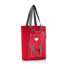 Фамилна чанта за пазаруване Reisenthel - Червена
