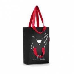 Фамилна чанта за пазаруване Reisenthel - Черна