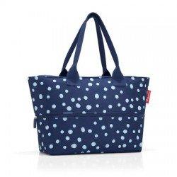 Разгъваема чанта за пазаруване Reisenthel Райе - Тъмно синя на точки