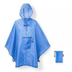 Дъждобран Reisenthel - Светло син на точки