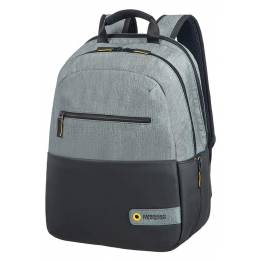 CITY DRIFT Раница за лаптоп 14.1 инча - Grey/Black Куфари и чанти