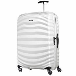 Куфар Lite-Shock 69 см - бял