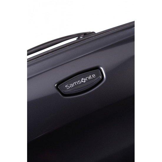 Куфар Еngenero 62 см - черен металик