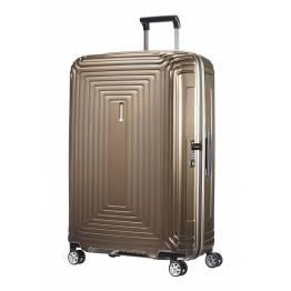 Куфар Neopulse 75 см - кафяв металик