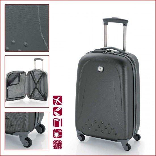 ABS куфар 55 см. графит - Apolo