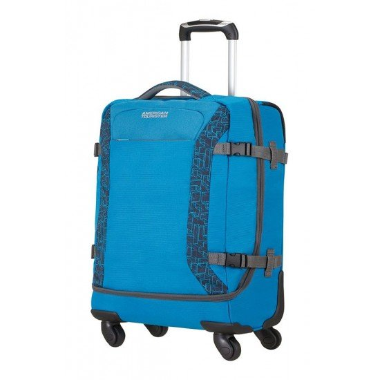 American Tourister куфар/сак Road Quest 55 см - небесносин
