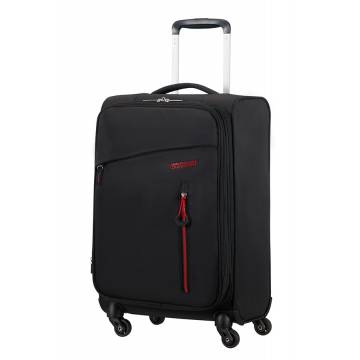 American Tourister Куфар Litewing 35 см широчина - черен