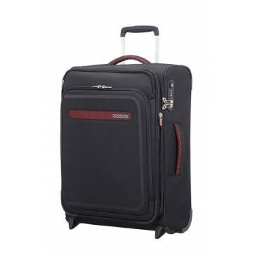 American Tourister Куфар Airbeat 55 см - черен