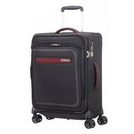 American Tourister Куфар Airbeat 55 см. - черен