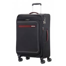American Tourister куфар Airbeat 68 см - черен