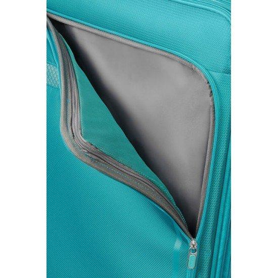 American Tourister куфар Airbeat 68 см - светло син