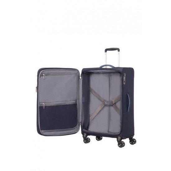 American Tourister куфар Airbeat 68 см - тъмно син